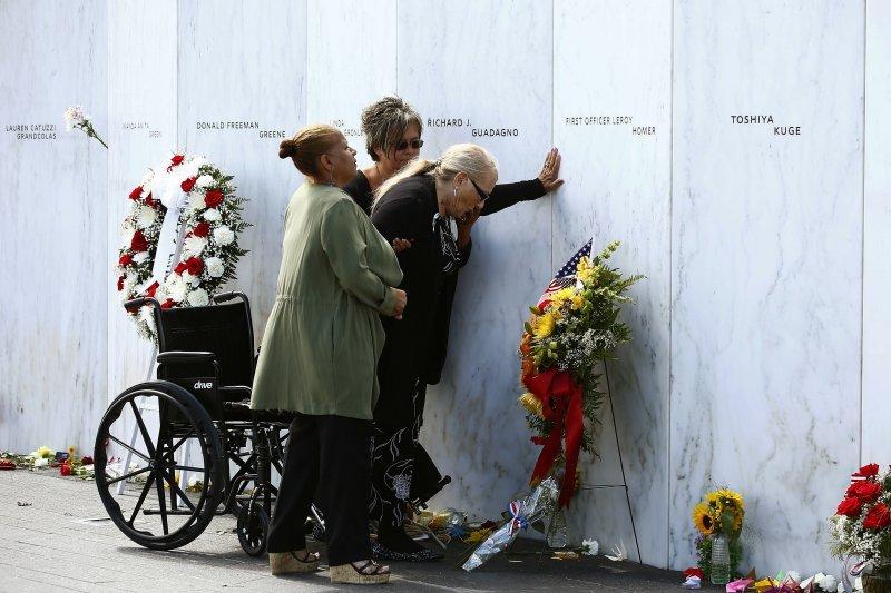 911事件發生近16年,但罹難者家屬心中仍存在傷痛。(美聯社)