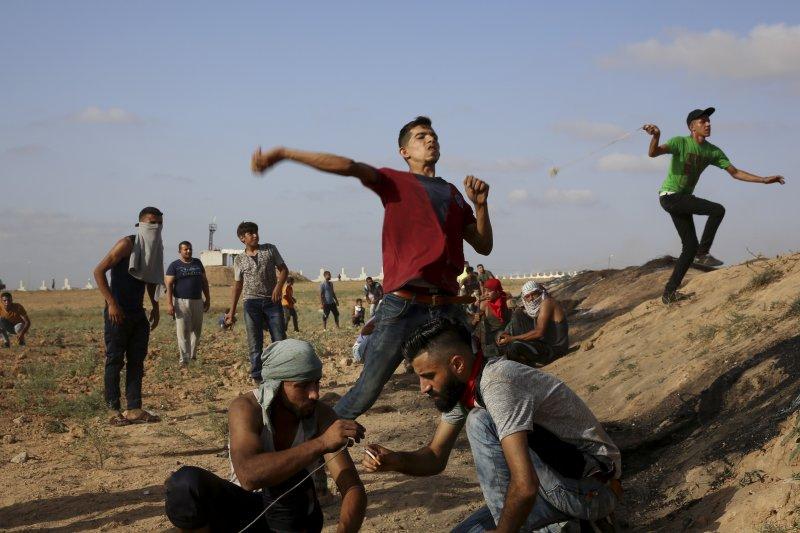 巴勒斯坦激進組織「哈瑪斯」掌控的加薩走廊宛如「露天監獄」,當地青年失業率高達60%(AP)