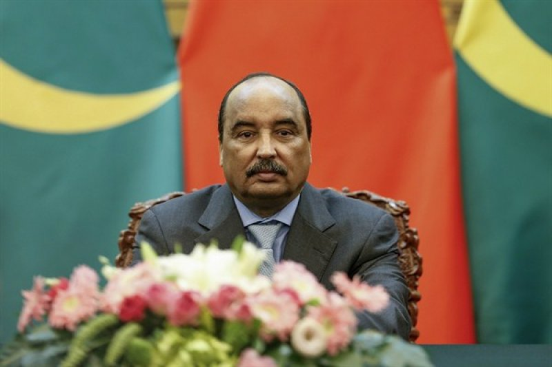 茅利塔尼亞總統阿濟茲,反對黨憂心這次修憲公投是阿濟茲為獨裁統治鋪路  (AP)