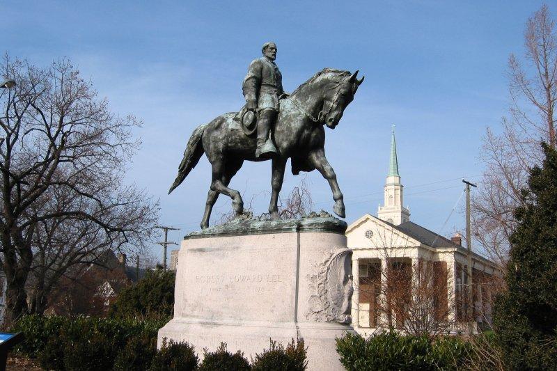 沙洛斯維的李將軍銅像(Wikipedia / Public Domain)