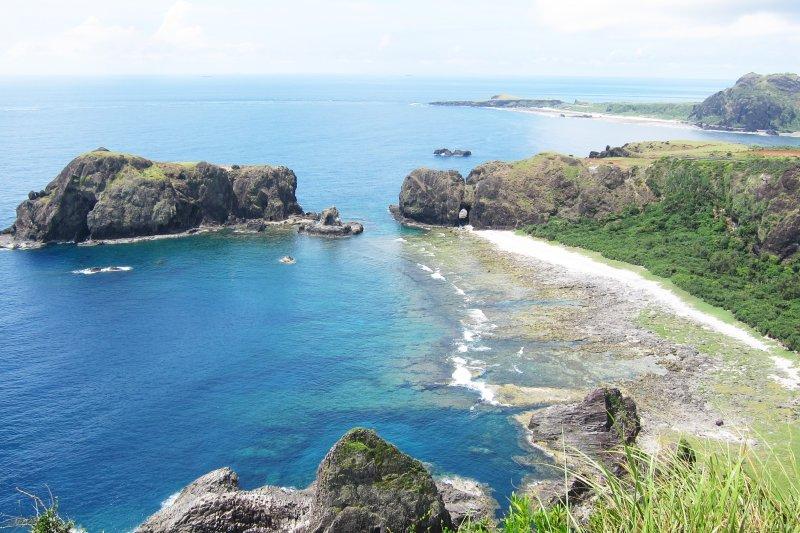 綠島景色之美,特地來一趟也絕對不會後悔。(圖/jeff~@Flickr)