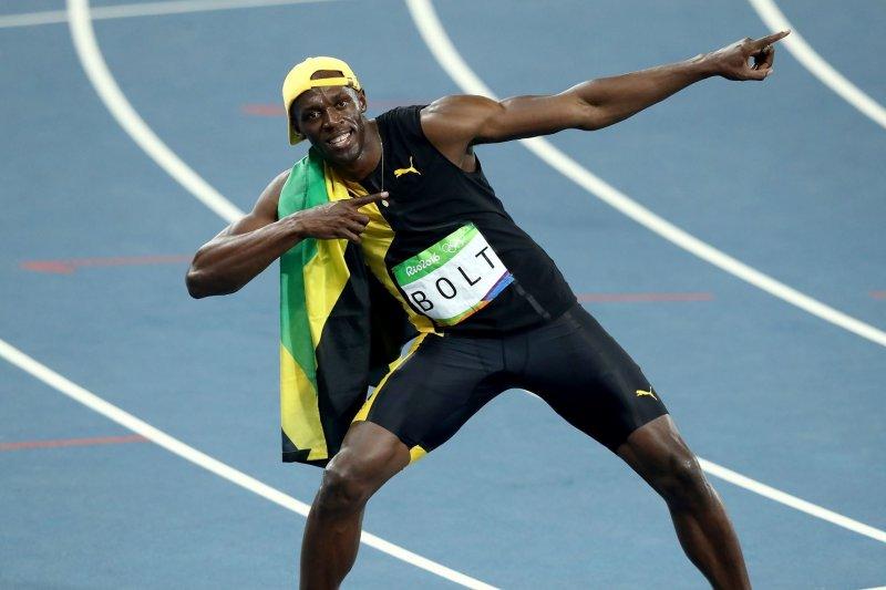 生涯摘下奧運8金與世田賽11金的一代名將波特(Usain Bolt)宣告退休。(圖/ Olympic@facebook)