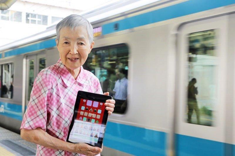 日本高齡奶奶積極學習寫程式,甚至被蘋果執行長庫克邀請參加開發者大會!(圖/陳之俊攝,遠見雜誌提供)