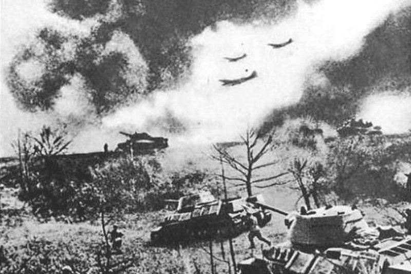 二戰-庫斯克會戰-庫爾斯克會戰-此戰為納粹德軍最後一次對蘇聯發動大規模戰略性攻擊,為東線戰場戰略主動權易手的轉捩點。(取自網路)