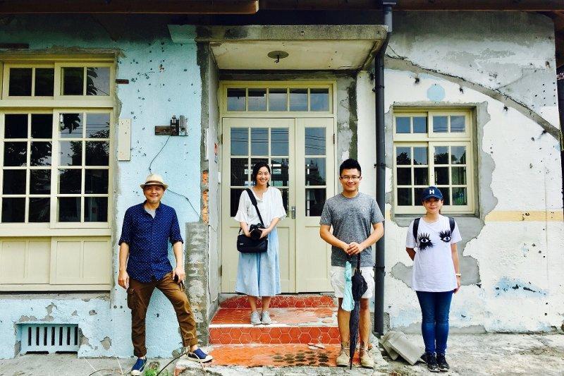 踩線團參訪屏東眷村(圖/屏東縣政府觀光傳播處提供)