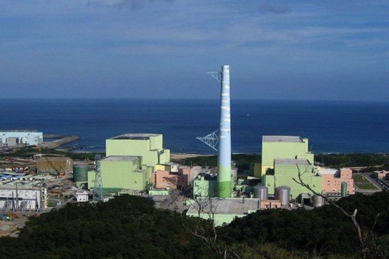 台大風險中心說核四運轉但廢核一、二、三廠,其碳排放高於蔡政府非核家園。圖為核四廠全景。(前廠長王伯輝提供)