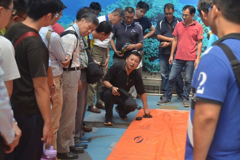 106年度海洋污染防治專業訓練班(圖/高雄市海洋局提供)