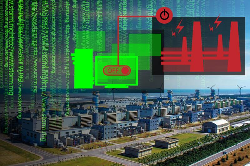 20170819-駭客斷電 資安 大潭電廠 斷電 跳電 停電。(資料照,取自台電月刊/影像合成:風傳媒)