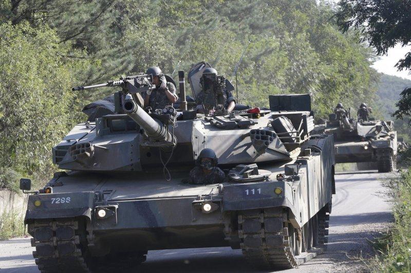 美韓軍演可能再次挑起北韓的敏感神經。(美聯社)