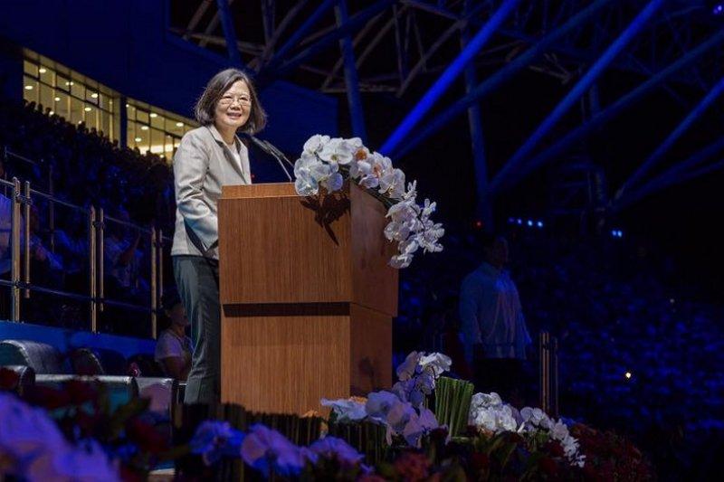 世大運閉幕,蔡英文總統臉書文談團結。(取自蔡英文臉書)
