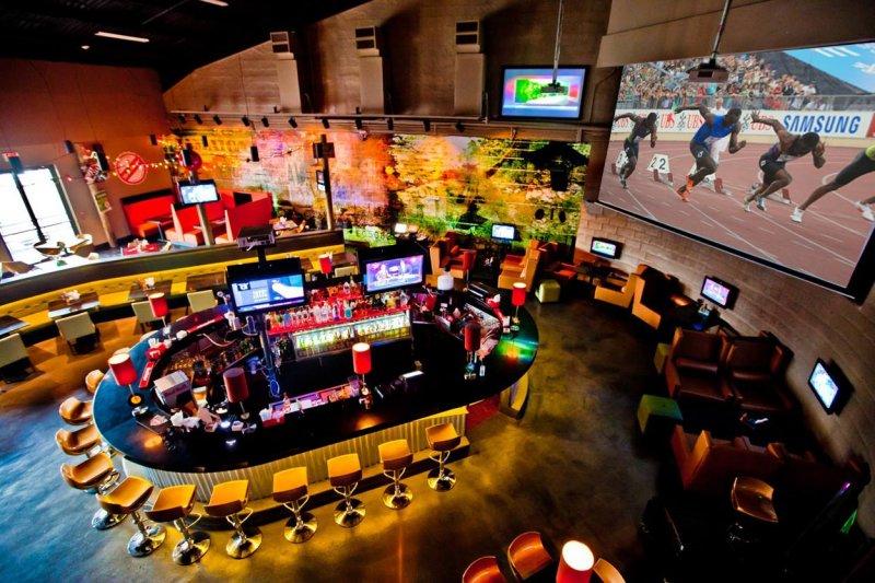 「跑道與紀錄」是波特2011年在牙買加首都金斯敦開設的運動酒吧,營運觸角將延伸到英國。(圖/Usain Bolt