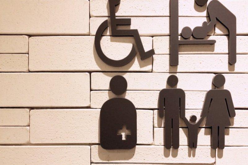 日本的無障礙廁所分類詳細,大約有以下6種。(圖/MATCHA提供)