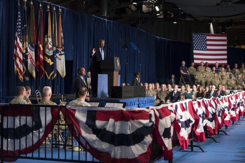 阿富汗戰爭:美國總統川普宣布增兵,且不設撤軍時程表(AP)