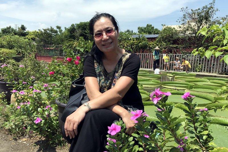 首位女副局長是道地的台南人。(圖/翁藝瑛提供)