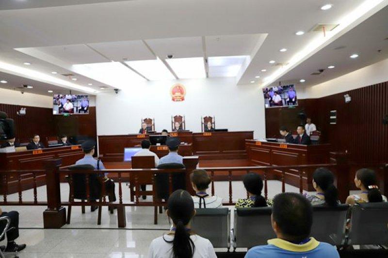 維權律師江天勇今(22)日受審,江天勇當庭認罪,更承認自己是709案律師謝陽遭受酷刑的「謠言幕後策畫者」。(取自長沙法院網)