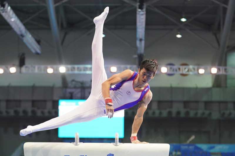 在世大運奪得亮眼成績的體操好手李智凱,在這次的全運會中維持佳績,勇摘4金1銀。(資料照,大專體總)