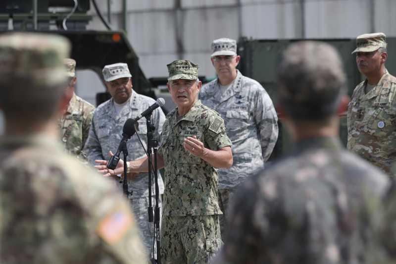 太平洋司令部司令哈里斯。(美聯社)