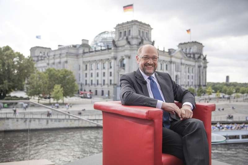 德國大選:社會民主黨(SPD)黨魁舒爾茨(AP)