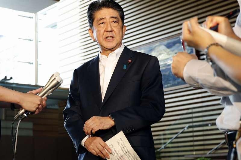 北韓發射飛彈:日本首相安倍晉三作出回應(AP)