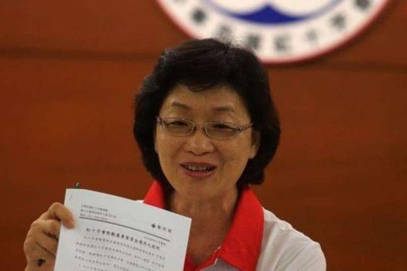 台灣紅十字會面臨募款危機,王清峰坦言受到打擊。(BBC中文網資料圖片)