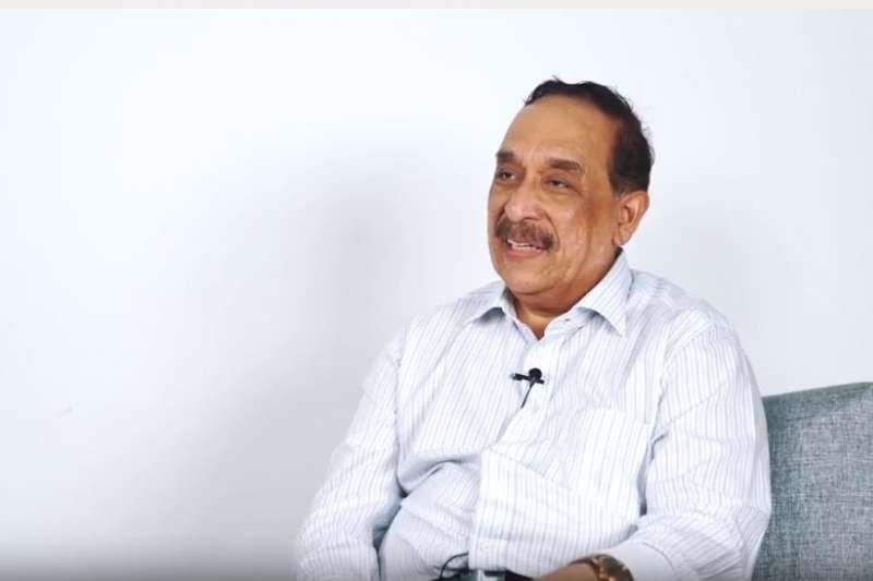 波旁海事公司亞太區執行主席法立(Farid Khan)。(截圖自YouTube)