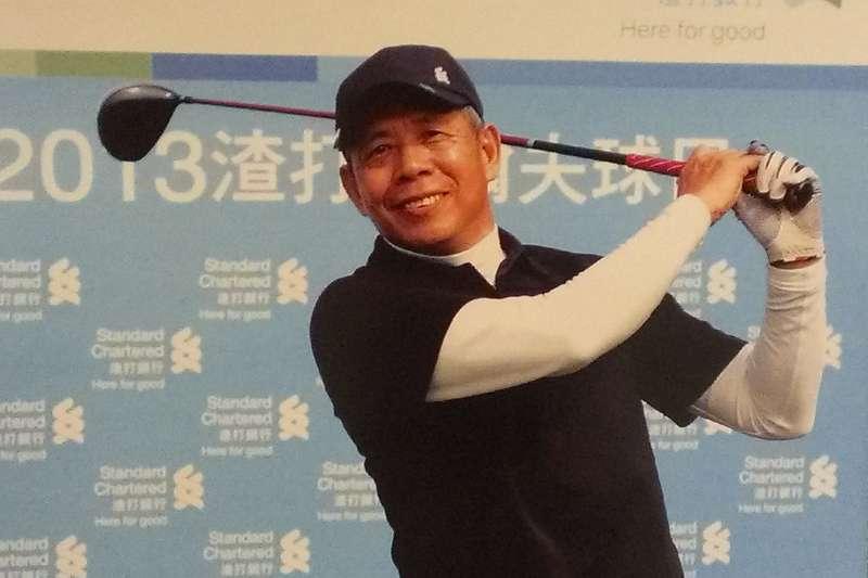 台灣參與國際運動賽事所用的「中華奧會旗」正是翁明義所設計。(圖/翁明義@facebook)