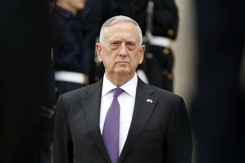 美國國防部長馬提斯(AP)