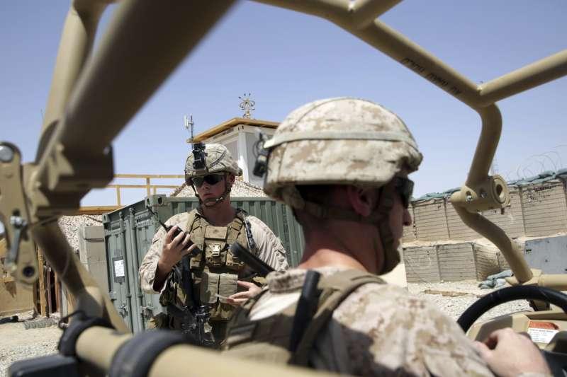 駐阿富汗美軍(AP)