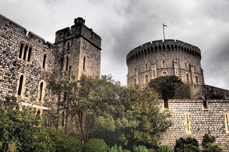 溫莎城堡(取自Pixabay)