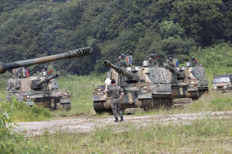 因應北韓威脅,美國與南韓經常在朝鮮半島進行軍事演習(AP)