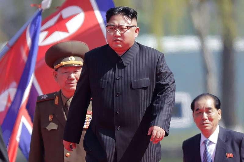 北韓最高領導人金正恩只相信家人,從指定妹妹金敬姬、張成澤夫婦做為金正恩的監護人這件事,很多方面都可以觀察得出來。(AP)