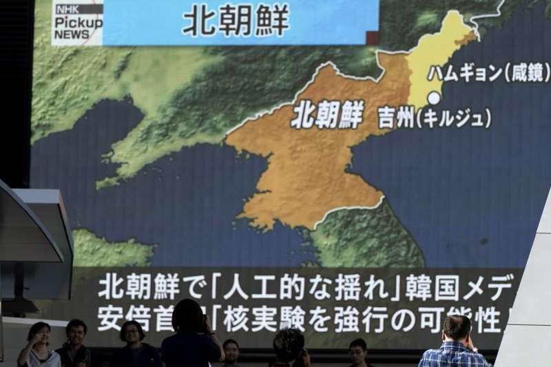 北韓宣稱試爆氫彈成功,即6度核彈試爆(AP)