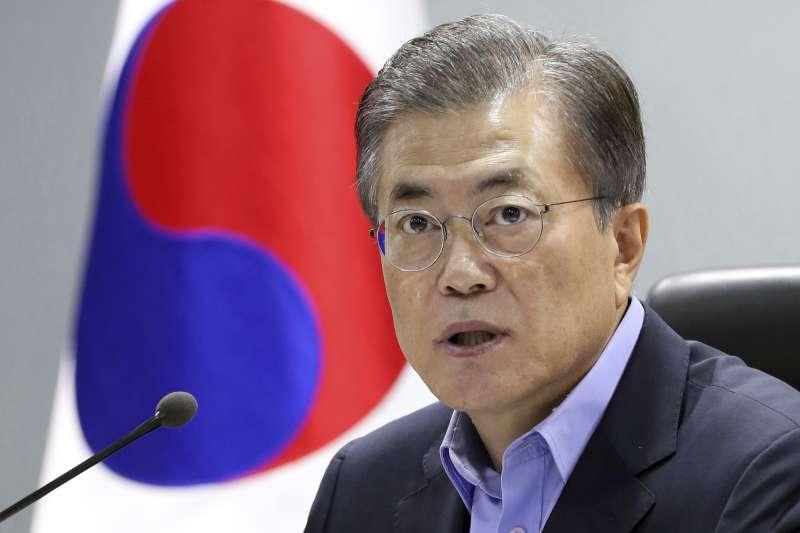 南韓總統文在寅提議修憲(AP)