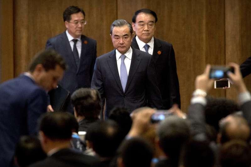 金磚五國廈門峰會:中國外交部長王毅(AP)