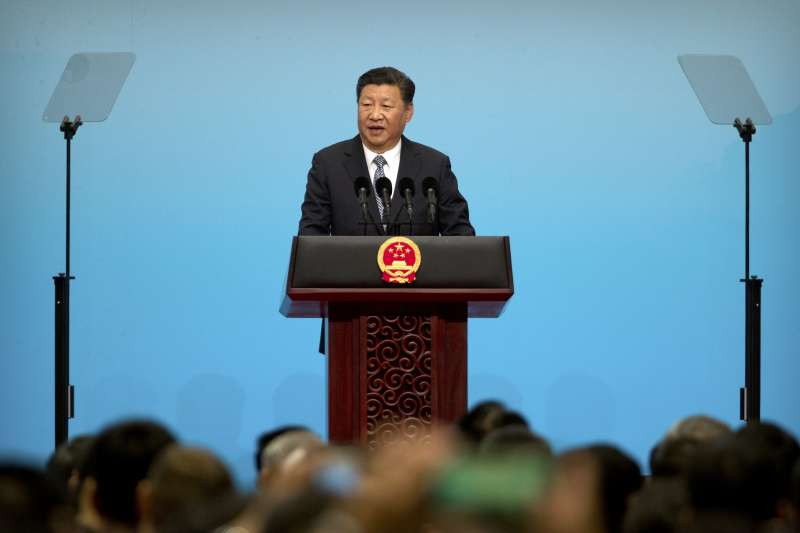 金磚五國廈門峰會:中國國家主席習近平開幕致詞(AP)