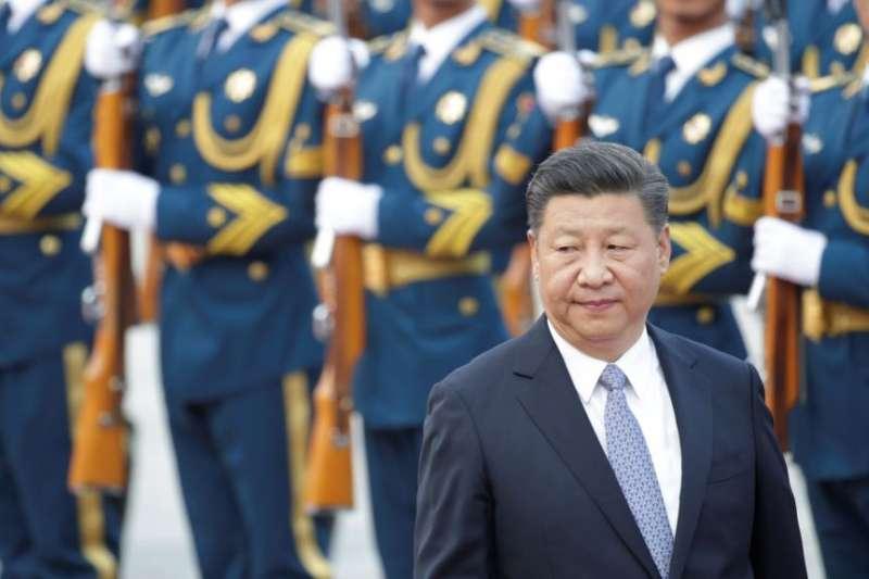 中國國家主席習近平。(美國之音)