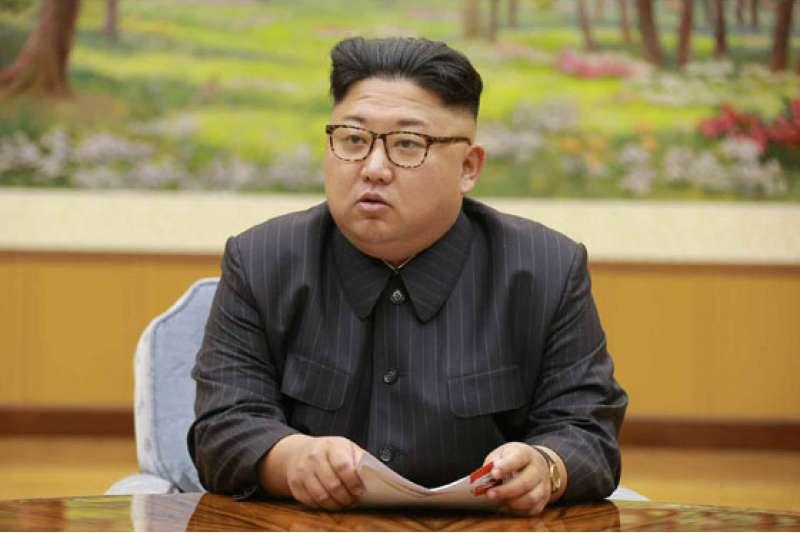 2017年9月3日,北韓最高領導人金正恩主持勞動黨政治局常委會議,決定進行氫彈試爆。(勞動新聞)