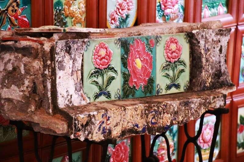 過去花磚是富貴的象徵,被廣泛的使用在建築上,今天他成為那段歷史最珍貴的記憶。(圖/台灣花磚古厝@facebook)