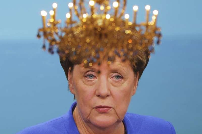 德國即將舉行國會大選,現任總理梅克爾的支持度保持領先(AP)