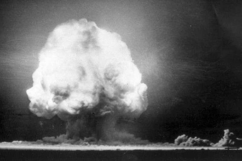 美國1945年在新墨西哥(New Mexico)沙漠進行了第一次核試驗。(BBC中文網)