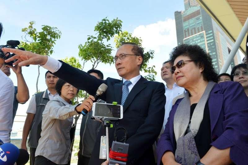 高雄市長陳菊在臉書上發文,表示林全真的是對台灣鞠躬盡瘁,對林全深深的感謝,希望大家給他一個掌聲。(取自陳菊臉書)