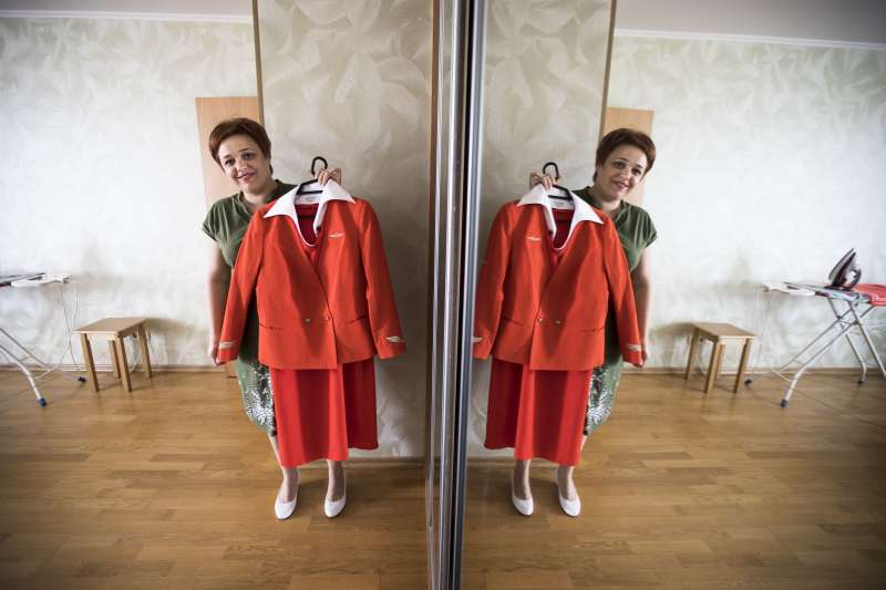 瑪格麗娜展示制服(AP)