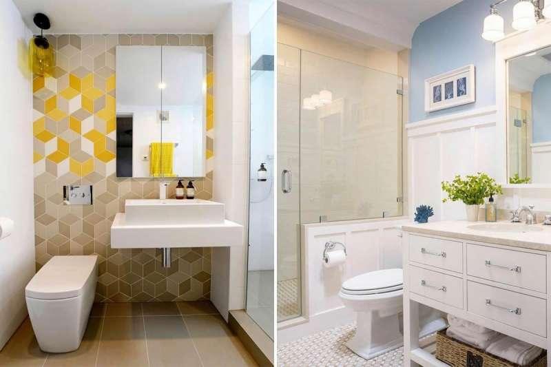 浴室沒有對外窗是很多人的煩惱,專家分享6個簡單的解決方法,在不動格局的前提下,還你舒爽浴室!(圖/設計家Searchome提供)