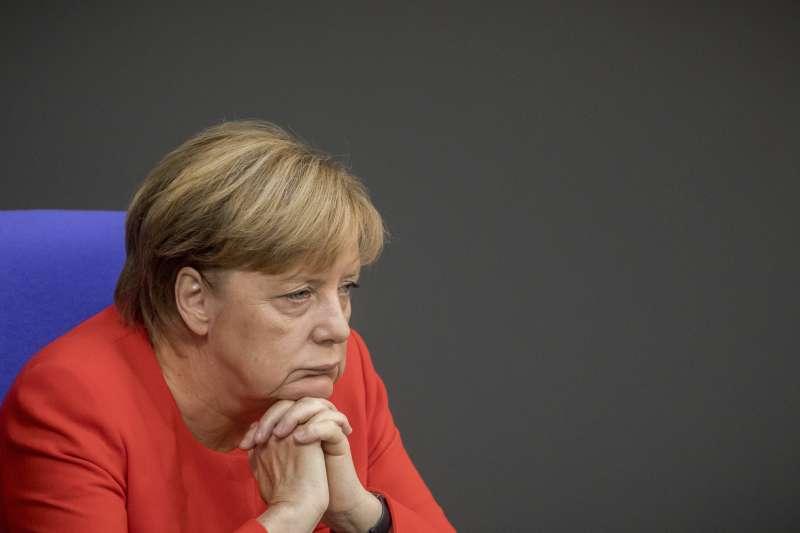 2017德國大選,梅克爾沒有遇到明顯障礙,堪稱「無聊」的一場選戰。(美聯社)