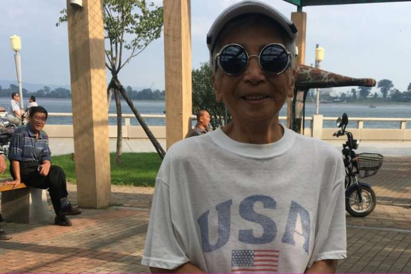 這位丹東居民說因為「中朝友誼永遠」,所以「打不起來」。(BBC中文網)