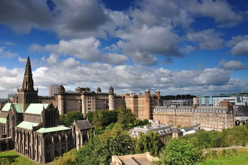 英國蘇格蘭最大城市格列斯哥(圖/HamzaButt@FlickrCCBY2.0)