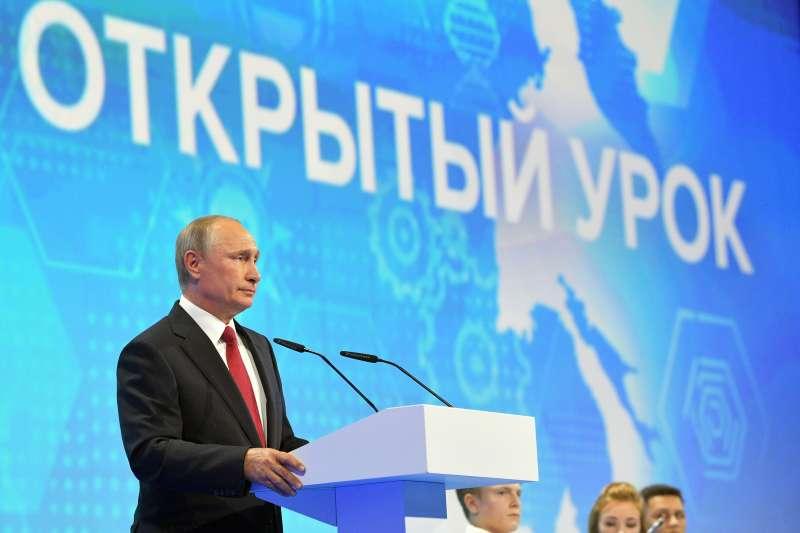 俄羅斯總統普京認為,能夠掌控人工智慧,就能控制全世界(AP)