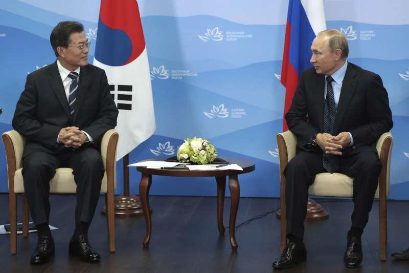 北韓石油禁運:南韓總統文在寅希望俄羅斯總統普京支持制裁(AP)