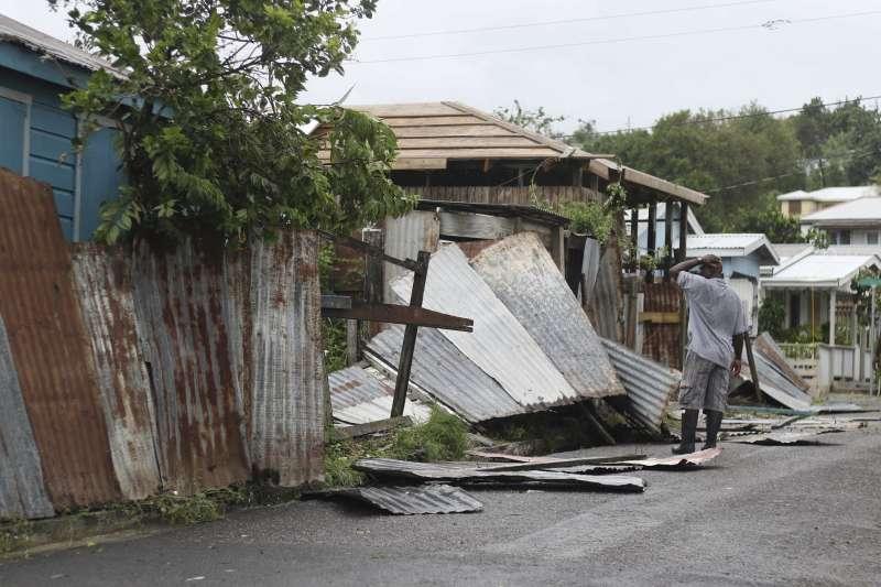 艾瑪颶風:安地卡及巴布達的巴布達島呈現「幾乎不適人居」的狀態(AP)