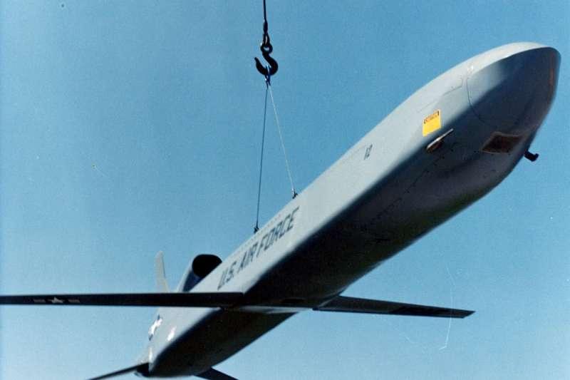 美軍空射核子巡弋飛彈「AGM-86B」(Wikipedia / Public Domain)